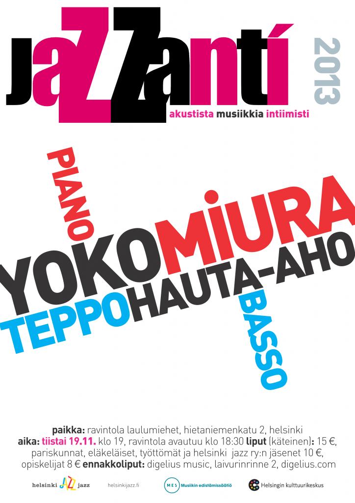 jaZZanti-konsertti 20131119